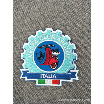 Parches de bordado de moda personalizados para la ropa