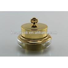 5ml 10ml 15ml 30ml 50ml Coroa Plastic Cosmetic Packaging Acrílico Cosmético Jar