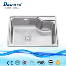 popular style single bowl kitchen sink made of AISI 304 stainless steel