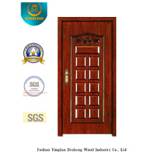 Classic Style Security Door with Carving (b-6002)