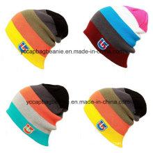 Индивидуальная 100% акриловая зимняя шапочка, лыжная шапочка