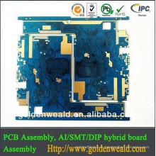 PCB électronique de conception avec le service d'assemblée de carte PCB et de PCBA prise de casque de 3.5mm à la carte PCB