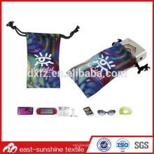 Buena mano toque de alta calidad logotipo impreso bolsa de microfibra