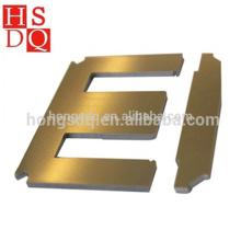Tôle d'acier de silicium de stratification de la couleur uniforme élevée d'EI du transformateur