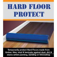 Film de protection pour plancher en bois