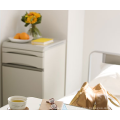 DW-31-A ABS hosiptal standard bedside table medical cabinet