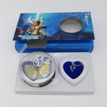 Wish Pearl Necklace Gift Box With Mermaid Design