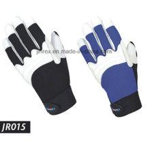 Gute Qualität Ledermechaniker Arbeitswerkzeug Safe Hand Handschuh