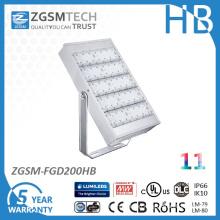 Ce RoHS SAA 200W LED Flood Light with Aluminum Housing