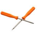 Kit de herramientas de apertura 4 en 1 Herramienta de reparación de palanca de destornillador naranja Destornillador T8H T6 de Orange para Xbox One X1