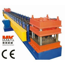 Passed CE and IOS hydraulic metal sheet highway guardrail roll forming machine Equipment