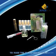 Limpador de lentes de pulverização, pano, screwdrive em um conjunto