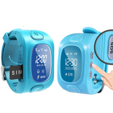 High Quality Newest Fashion Design GPS Kids Tracker Watch with Call Function, Sos Key, Longtime Standby, Free APP (WT50-KW)
