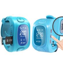 Отслеживание детей часы с GPS местоположения, помочь позвоните заранее установленный номер телефона (WT50-кВт)