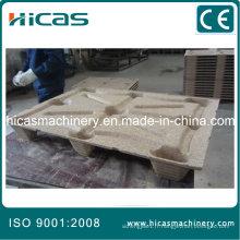 Ligne de fabrication de palettes en bois comprimé Hicas