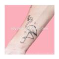 Tatuaje temporal 'Flamenco romántico' Diseños de tatuaje personalizados