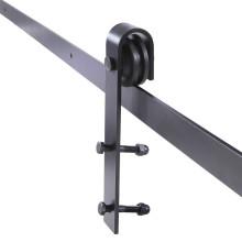 Kit de hardware de puerta corrediza de hierro corredizo a medida de bajo precio de venta caliente