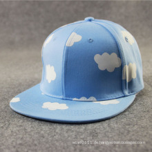 Art und Weise Gewohnheit bedruckte Baumwollzwillings-Baseball Trukfit Fernlastfahrer-Kappe (YKY3307-1)