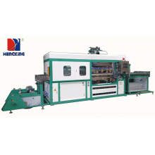 Plastic blister packaging forming machine