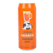 Health Drink Pawpaw Taste Canned Milk Beverage