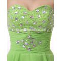 На заказ вечернее ужин платье короткое зеленого цвета Sash элегантные слои Таобао вечернее платье