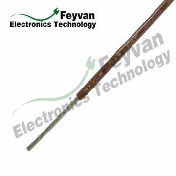 OEM manufacturer custom for Home Appliances Wire UL1330 FEP Insulated High Temperature Lead Wire export to Fiji Exporter
