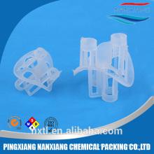 Anel plástico de Heilex do PE do PVC de Nan XiangPP para a indústria do alcalóide-Cloreto