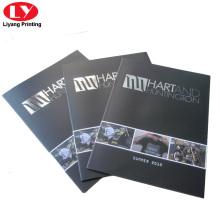 Catalogue de lunettes de soleil avec couture sellier imprimée
