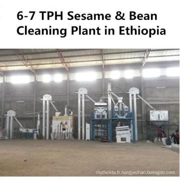 Usine de nettoyage de graine de graine de soja de pois chiche de pois chiches de Lentils (machines agricoles)