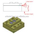 Barra de diodo láser 808nm importada de Alemania Energía montada CS 10W