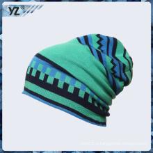 Top qualidade bordados promoção Custom tricotados fios grossistas