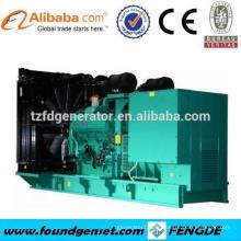 TOP 10 fournisseur! Générateur électrique à gaz naturel Deutz 550KW