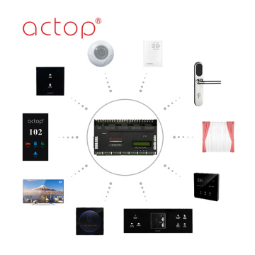 ACTOP Smart Hotel Solution Hệ thống kiểm soát Gustroom