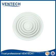 Hotsale воздух condionting точек алюминия круглый Потолочный диффузор отверстия воздуха