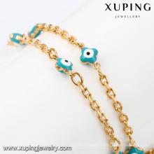 43077 accessoires de bijoux turcs en gros collier de bijoux plaqué or 18k délicat