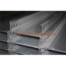 Cable Tray Hot DIP Galvanized Zinc Thickness ISO1461 Roll Forming Making Machine Qatar