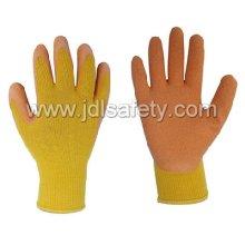 CE одобрил работу перчатка с оранжевой латекс (LY3012)