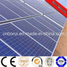 Material monocristalino do silicone e painel solar do tamanho 12V de 1580 * 808 * 35mm