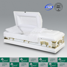 LUXES 2015 New Style Wood Casket Goodwill Funeral Casket For Sale