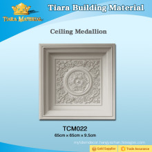 Top Class Decorative PU Ceiling Design With Elegant Shape
