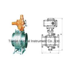 Type fixe robinet à tournant sphérique électrique
