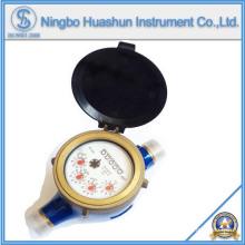 Débitmètre volumétrique à eau sèche / compteur d'eau en laiton / compteur d'eau de classe C
