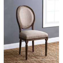 Round back wooden antique french banquet chair for banquet hall