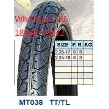 Moto pneu 2,25 de 2,25-17-18