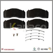 WVA 29125 Kapaco Wholesale Best Performance Brake Pads Manufacturer For Volvo Truck