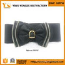 Ropa Mujeres Vestido Nylon Webbing Cinturón de cuero