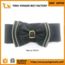 Clothes Women Dress Nylon Webbing Leather Belt