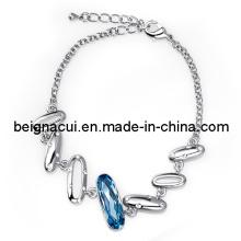 SW Elemente Kristall Aquamarine Farbe Armband Schmuck (WWTFM00187)