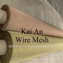 Blindaje de cobre malla de alambre tejido