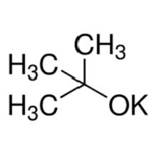 potassium tert-butoxide and tert-butanol reaction
